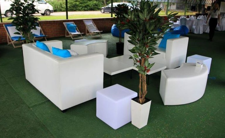 Wyposażenie imprezy firmowej na łódzkim polu golfowym