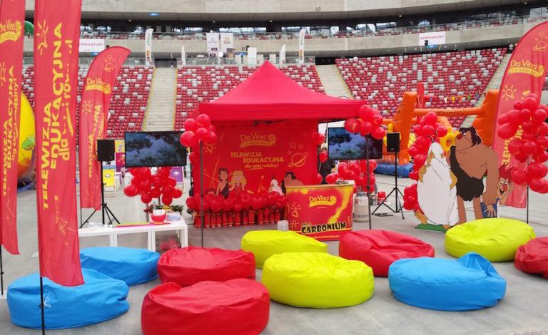 Impreza dla dzieci na Stadionie Narodowym, Warszawa