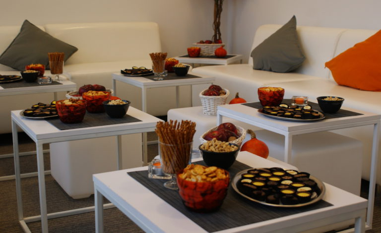Wyposażenie VIP Roomu na Targach Książki 2016