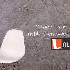 Gdzie można wypożyczyć meble eventowe w Krakowie?