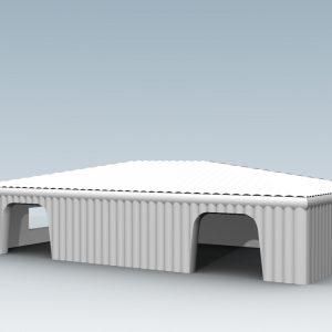 Namiot pneumatyczny - Arena