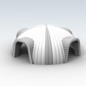 Namiot pneumatyczny - Circle