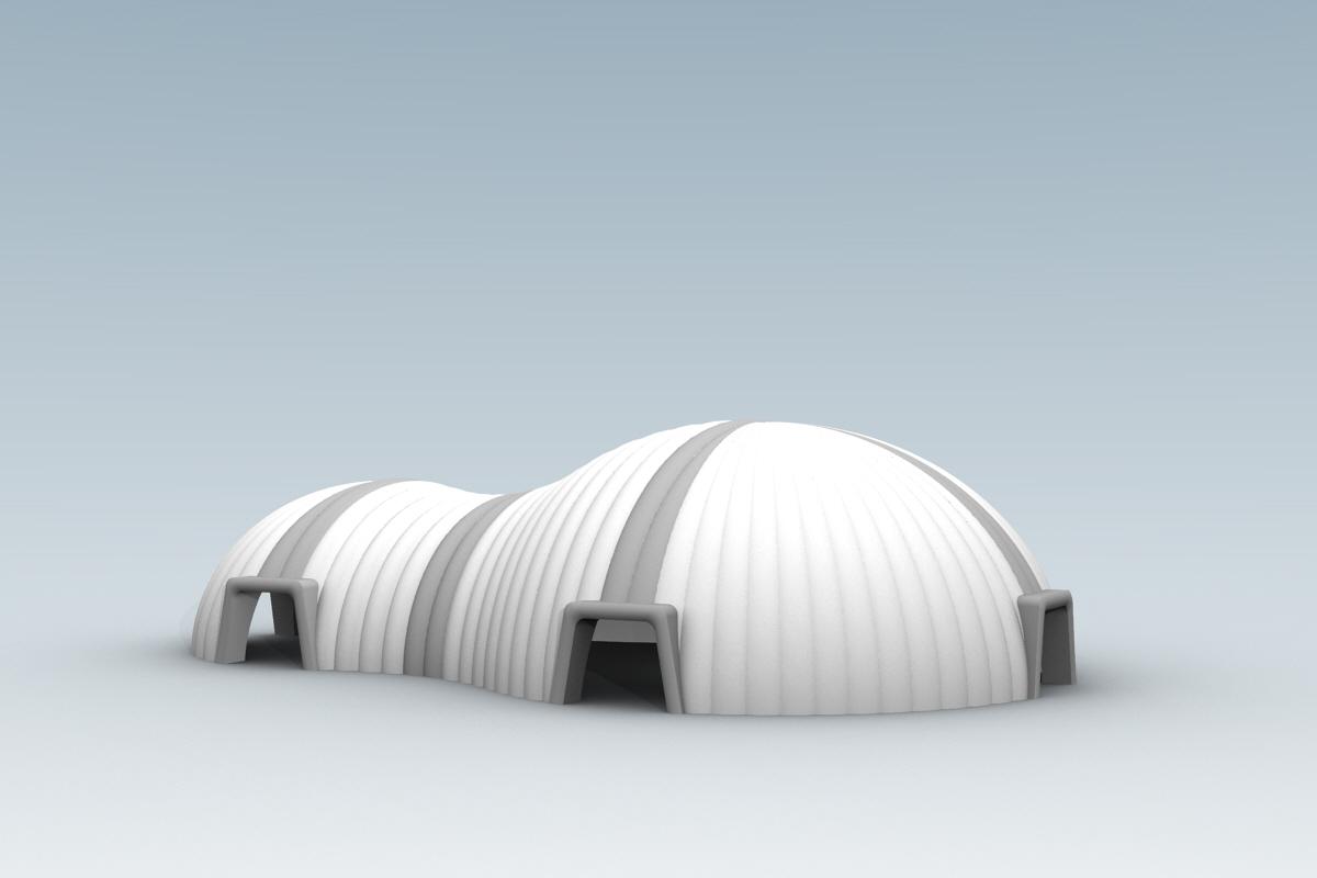 Namiot pneumatyczny - Cosmic