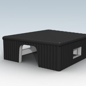 Namiot pneumatyczny - Cube