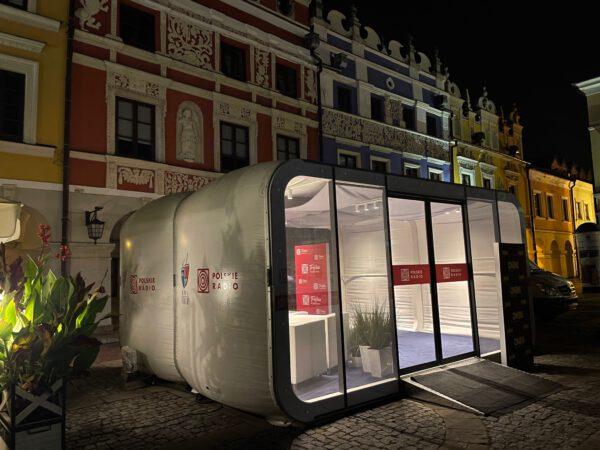 AirClad od Loungetime na festiwalu Dwa Teatry w Zamościu 2021